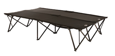 kamp rite double kwik cot is the best two person camping cot
