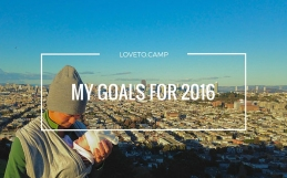 MY OUTDOOR ADVENTURE GOALS FOR 2016