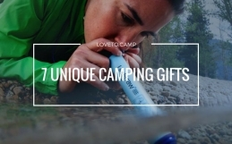 Truly Unique Camping Gifts (that Your Camping Friend Will Actually Use)